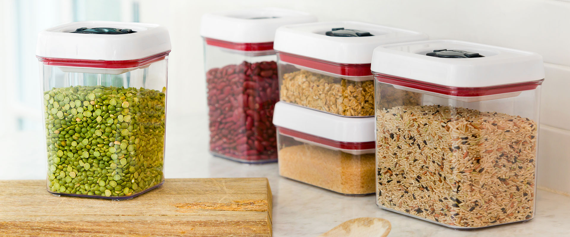 Zyliss food storage containers