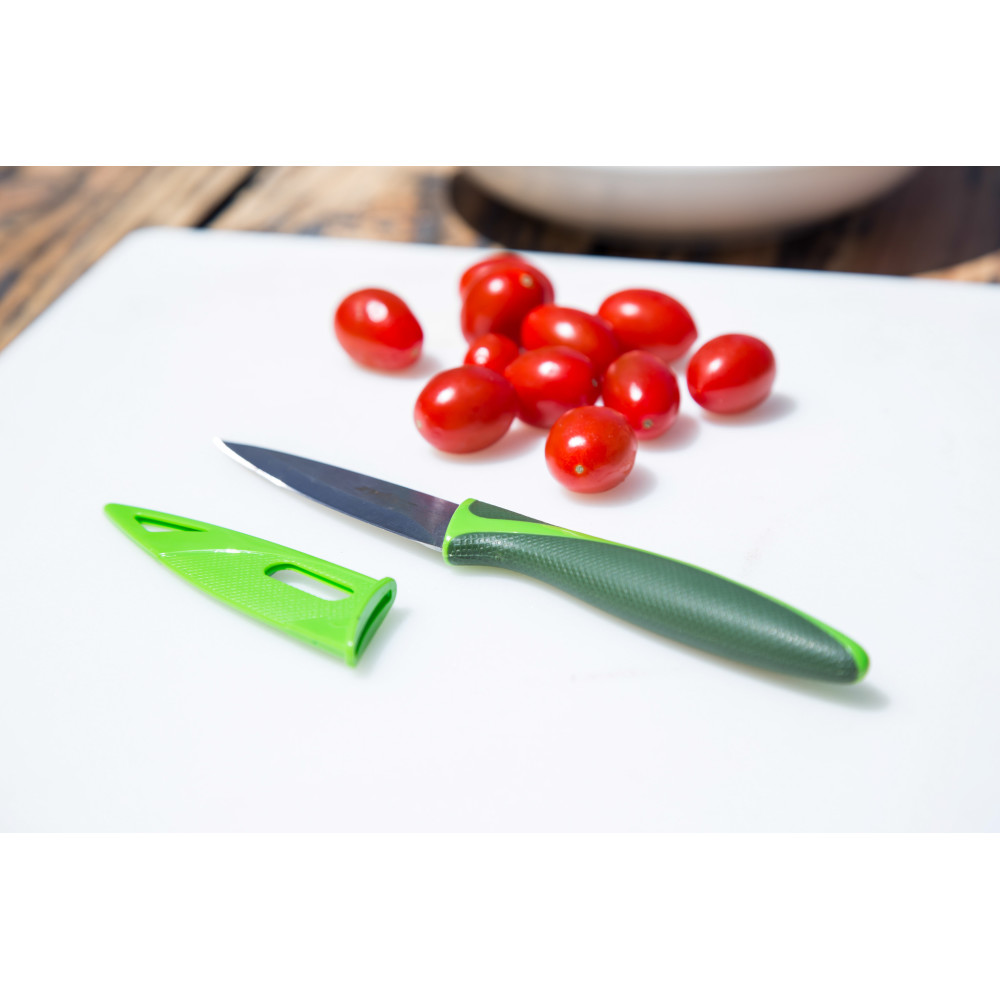 Zyliss Paring Knife With Cover, 3.25 in