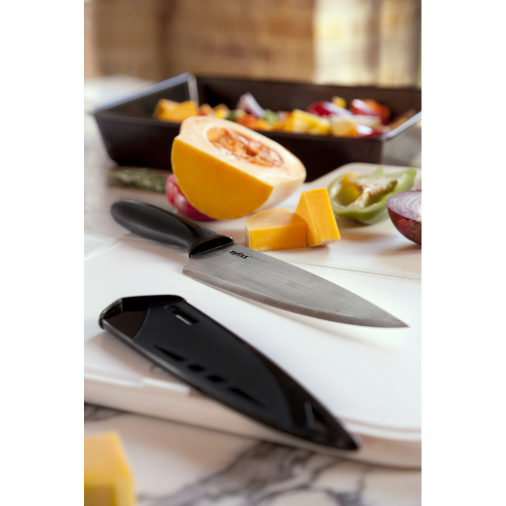 Zyliss Chef's Knife With Cover, 7.25 in