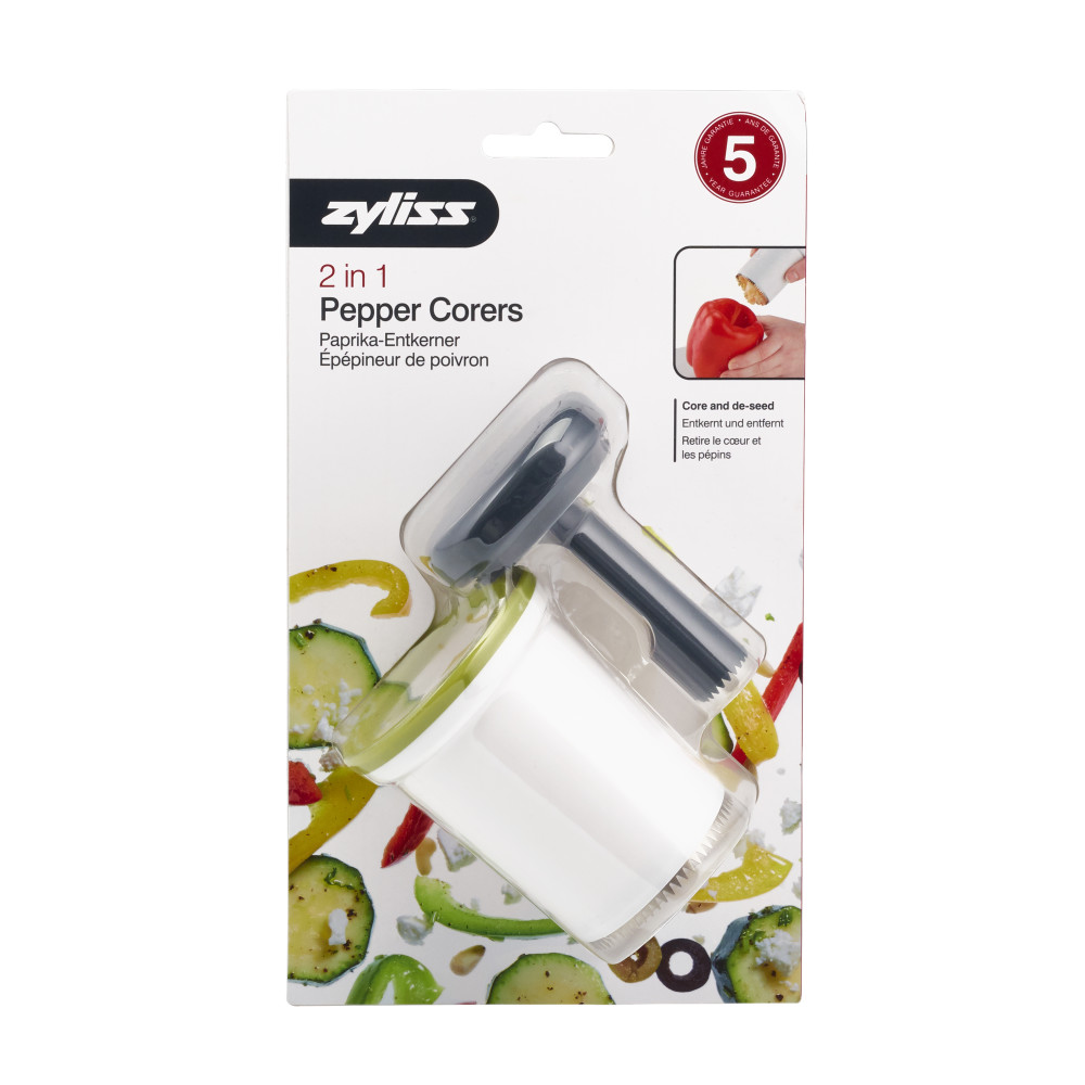 Zyliss 2 in 1 Pepper Corer