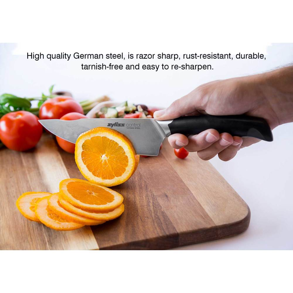 Zyliss Control 3-Piece Forged Stainless Steel Knife Value Set