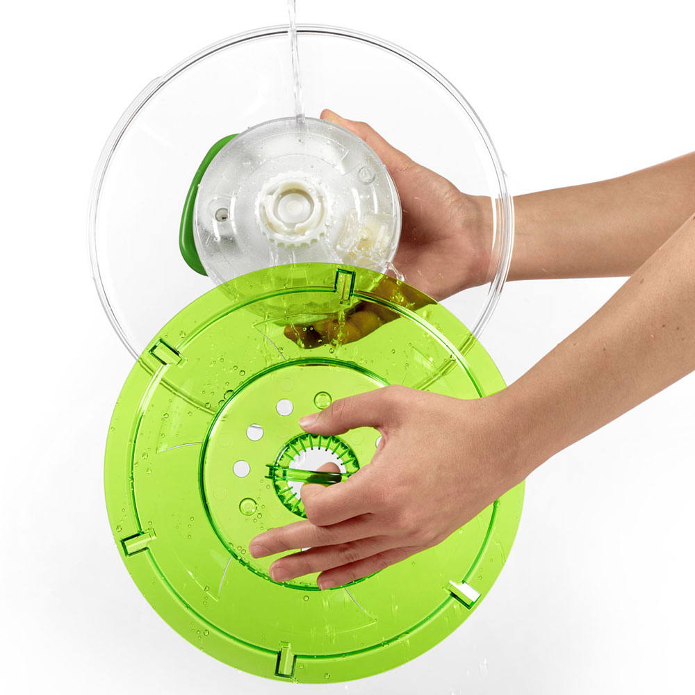 Zyliss Easy Spin 2 AquaVent Large Salad Spinner