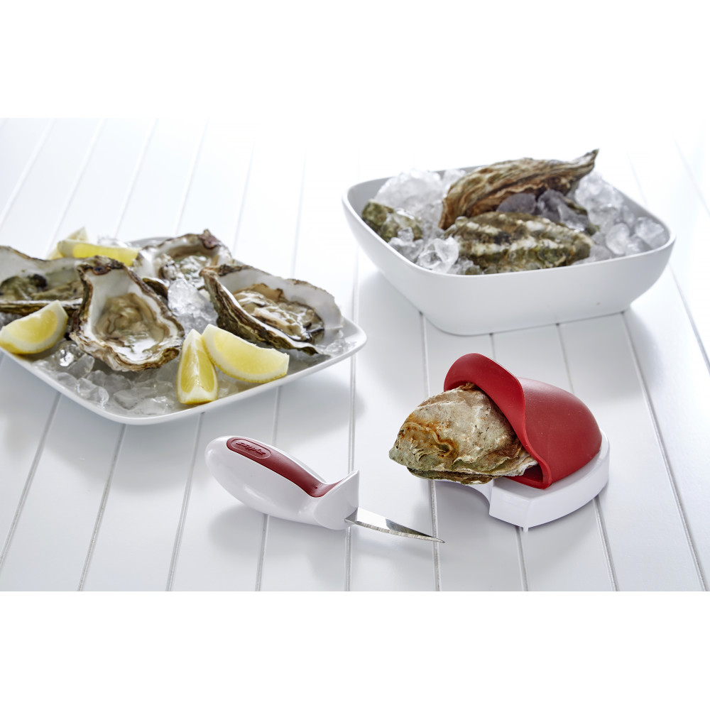 Zyliss Oyster Tool and Knife Set, Shucker