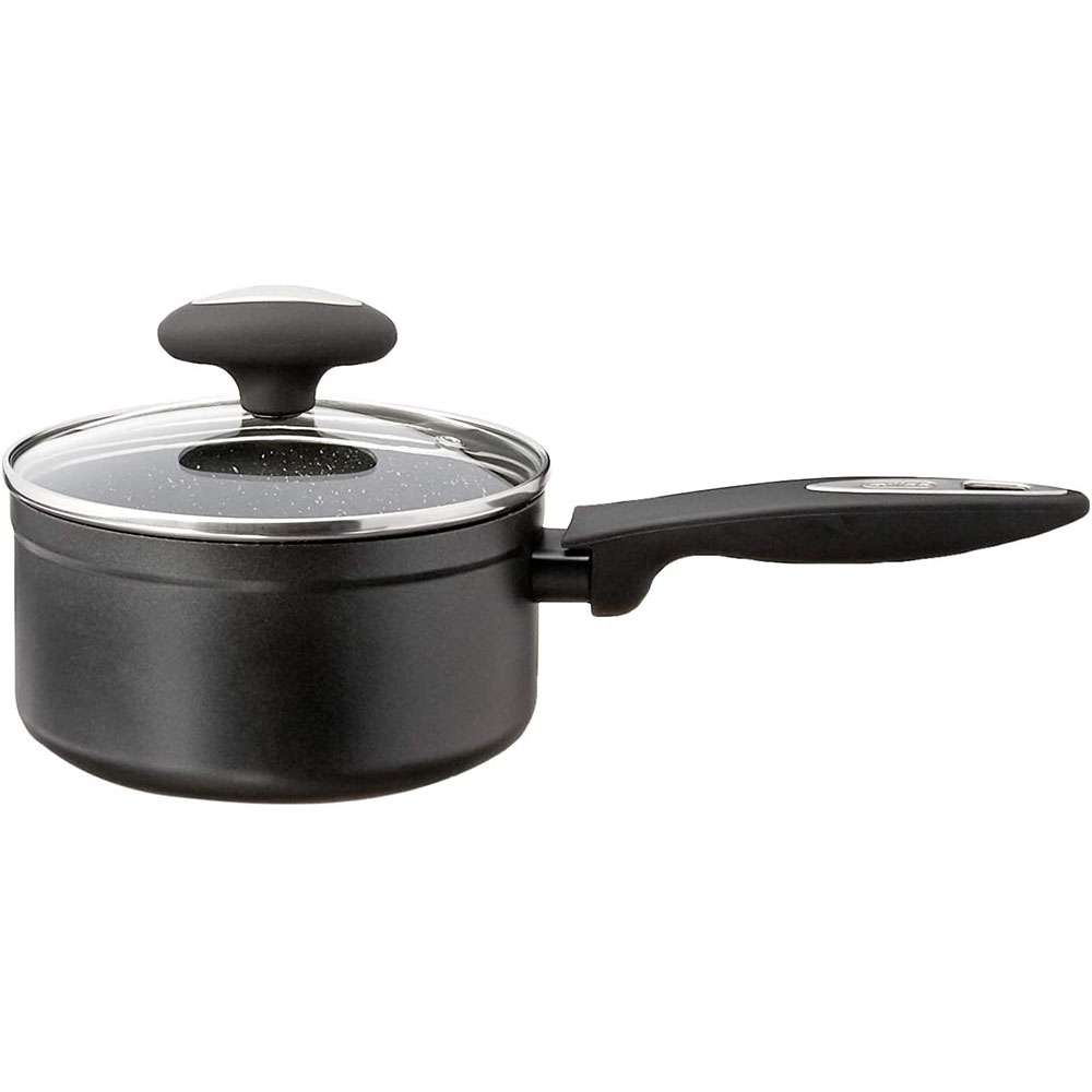 Zyliss 1.6 Qt Ultimate Nonstick Saucepan with Glass Lid, Dishwasher & Metal Utensil Safe