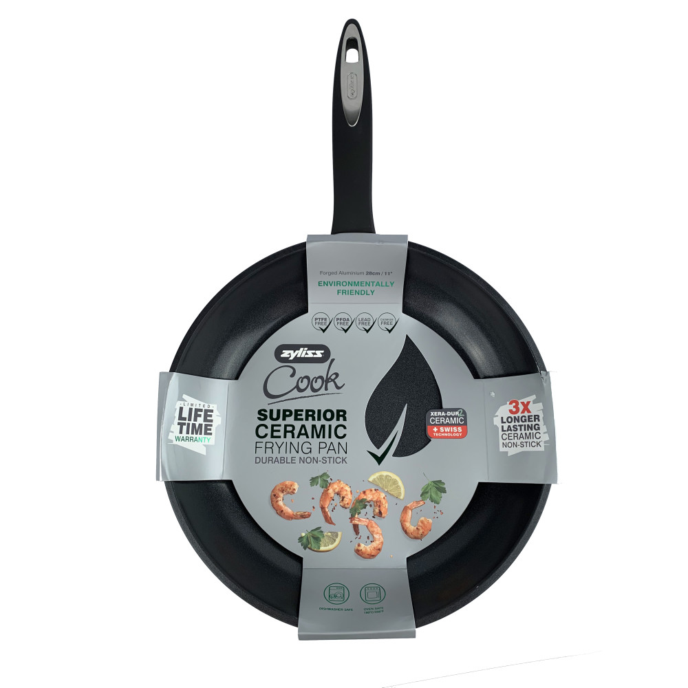 Zyliss 11 in. Superior Ceramic, Dishwasher Safe Fry Pan