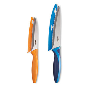 ZYLISS 2-Piece Serrated Utility Knife Set - E920279U