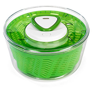 Zyliss Easy Spin 2 Aquavent Large Salad Spinner - E940012U